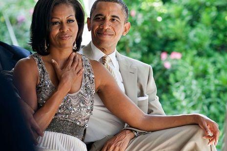 """Michelle Obama świętowała z mężem 27. rocznicę ślubu: """"Czuję magię, która nagromadziła się między nami"""""""