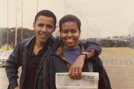 Michelle Obama i Barack Obama