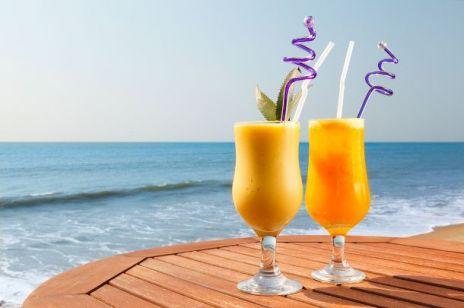 Letnie drinki - mango colada