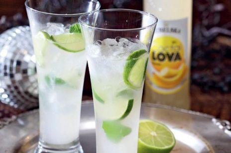 Drink bananowo-limonkowy