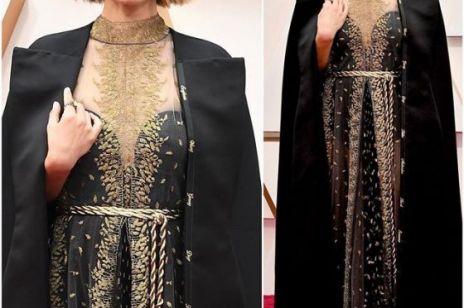 Oscary 2020: Natalie Portman wyszyła na pelerynie Diora nazwiska kobiet-reżyserek. W jakim celu?