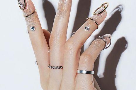 Modny manicure 2020 - biżuteryjne paznokcie to hit na wiosnę