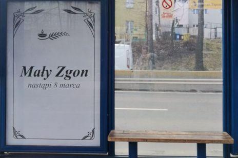 """Plakaty """"Mały Zgon nastąpi 8 marca"""""""