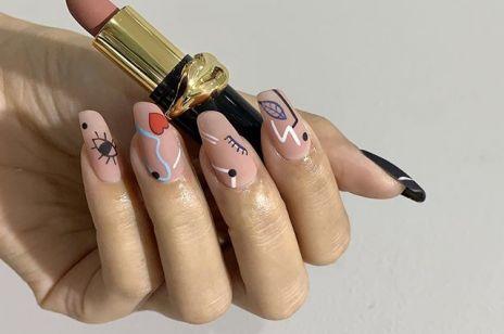 Lipstick nails - ten dziwny trend w manicure podbija Instagram