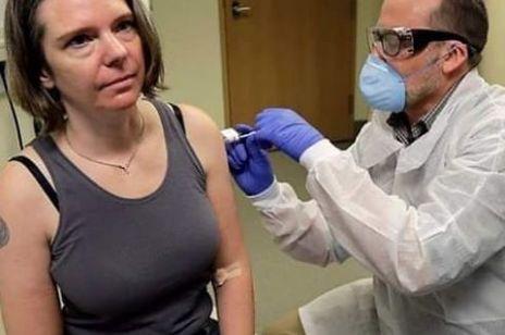 Jennifer Haller - pierwsza kobieta i osoba na świecie, która testuje szczepionkę na koronawirusa covid-19