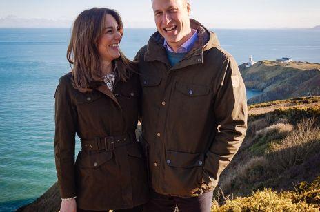 Księżna Kate i Książę William podczas wizyty w Irlandii