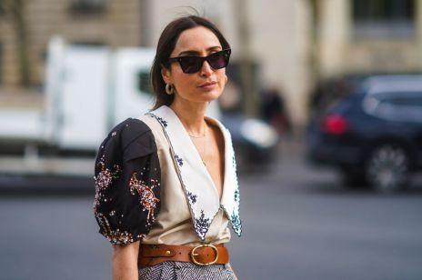 Modne bluzki trendy moda wiosna 2020