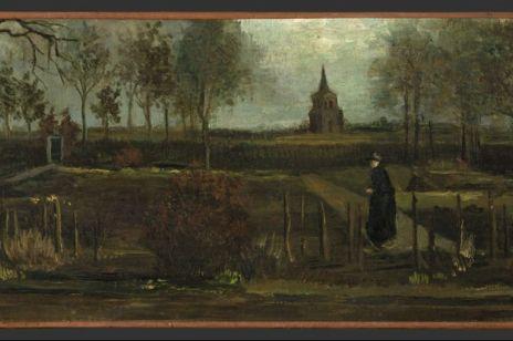 """Obraz Vincenta van Gogha """"Ogród przy plebanii w Nuenen wiosną"""""""