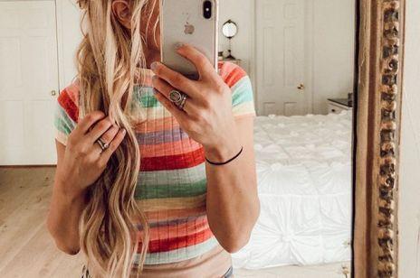 Najromantyczniejsza fryzura tej wiosny - warkocz francuski