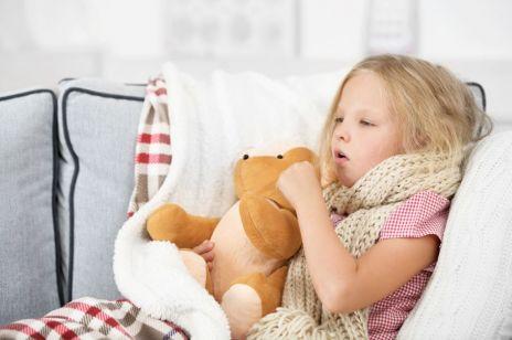 Sposoby na męczący kaszel u dziecka