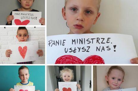 Apel dzieci do ministra Łukasza Szumowskiego