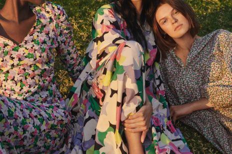 H&M sukienka w kwiaty - letnia kolekcja marki