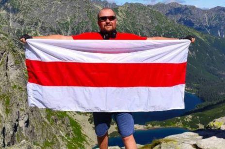 Eugene Silvanovich - białoruski aktywista mieszkający w Polsce