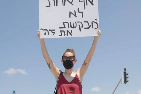 Izrael protestuje przeciwko przemocy wobec kobiet