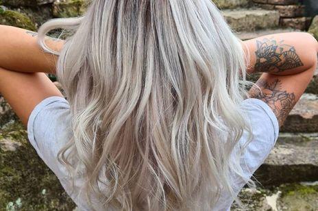 Silver baleyage to najmodniejsza koloryzacja tej jesieni. Koniec z ukrywaniem siwych włosów!