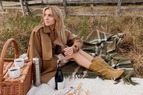 Kasia Tusk w pięknym camelowym płaszczu. Wiemy gdzie znajdziesz podobny!