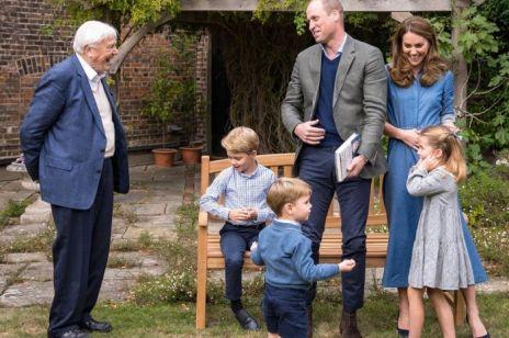 Książę Louis na Instagramie Davida Attenborougha: Głos tego 2-latka to najsłodsze, co dziś usłyszysz!
