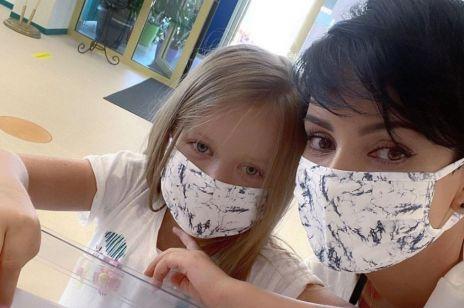 Dorota Gardias walczy o życie. Córeczka zaraziła ją koronawirusem