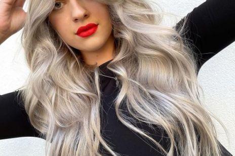 Modne kolory włosów na jesień 2020: steel blonde czyli zimny, stalowy blond