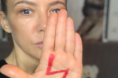 Kinga Rusin wspiera Strajk Kobiet