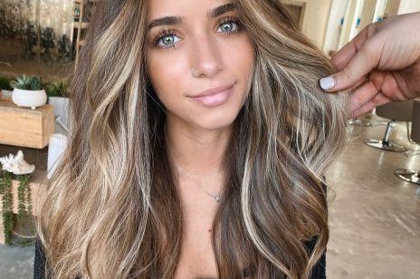 Modne kolory włosów na jesień: bronde