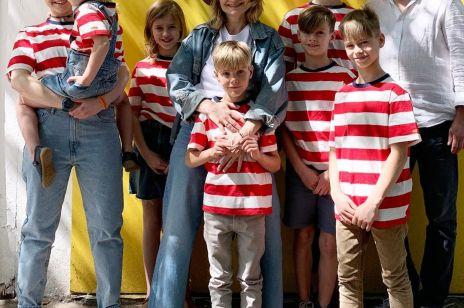 Agnieszka Stefaniuk, mama 7 dzieci, mentorka i autorka bloga