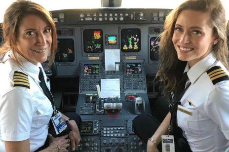 Mama i córka za sterami jednego samolotu - to dzieje się pierwszy raz w historii!