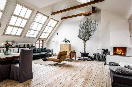 Jak urządzić mieszkanie na poddaszu? Skandynawskie inspiracje