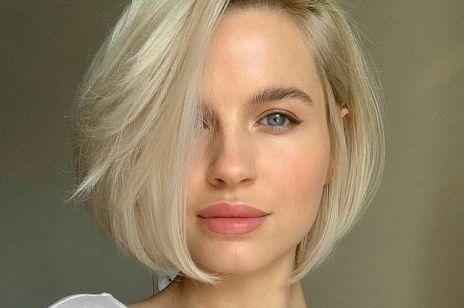 Krótkie fryzury, które podkreślają kości policzkowe