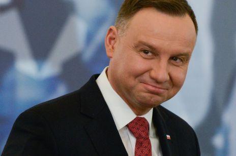 Andrzej Duda zostawił serduszko Małgorzacie Kożuchowskiej - jeden symbol, a tak wiele znaczy