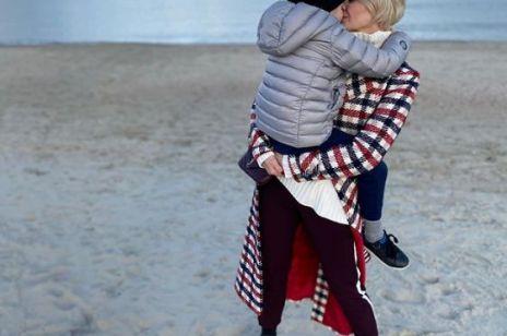 MODNE PŁASZCZE: Małgorzata Kożuchowska w płaszczu w kratę znanej polskiej marki. Ten płaszcz podkręci każdą stylizację!
