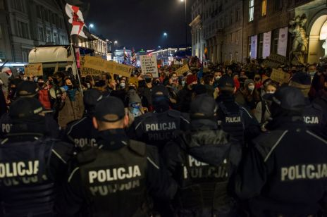 Strajk Kobiet w Warszawie 18/11/2020
