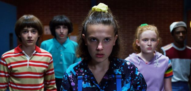 "Kadr z serialu ""Stranger Things 3"""