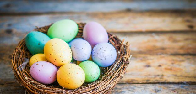 Kolorowe pisanki na Wielkanoc