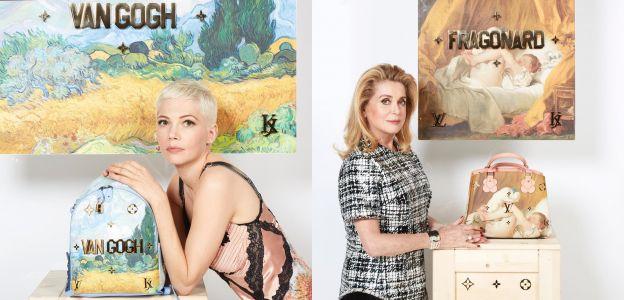 Louis Vuitton/ Michelle Williams; Catherine Deneuve