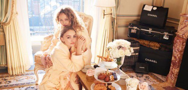 Vanessa Paradis i Lily-Rose Depp