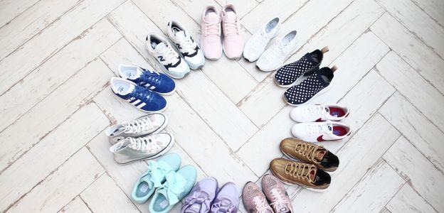 Modne sneakersy