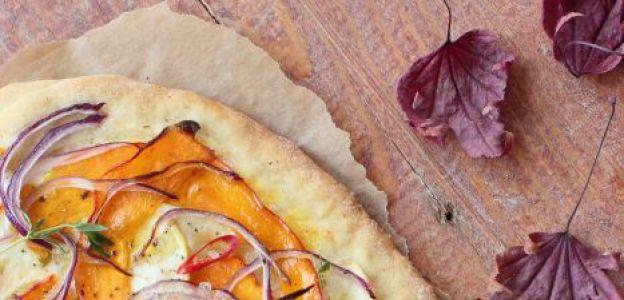 Jesienna pumpkin spice pizza