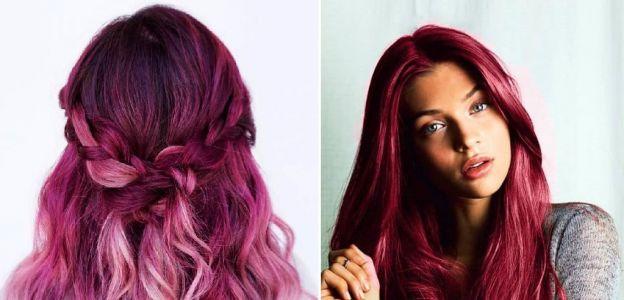 Pagenta - trend w koloryzacji włosów