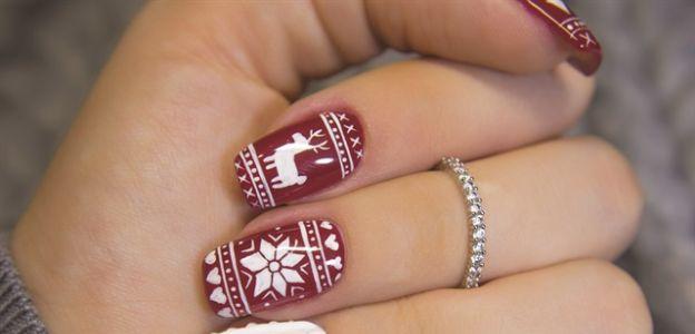Paznokcie Na święta Bożego Narodzenia 15 Najlepszych Wzorów