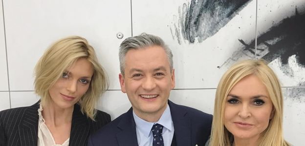 Anja Rubik, Robert Biedroń i Monika Olejnik