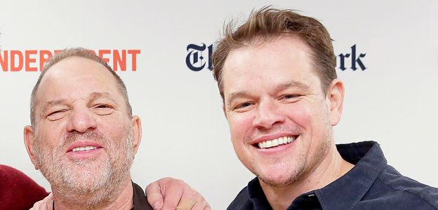 Matt Damon i Harvey Weinstein
