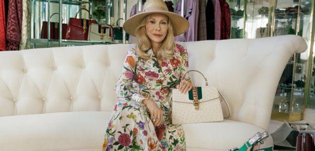 77.letnia Faye Dunaway dla Gucci