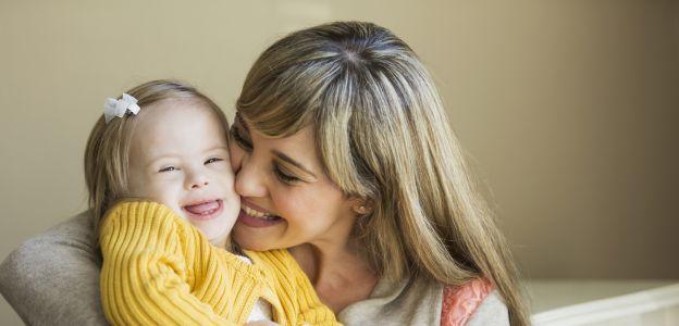 Mama wzruszająco o córce z zespołem Downa