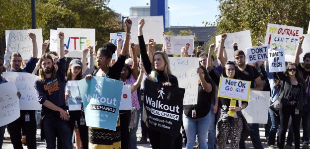 Protest kobiet przeciwko molestowaniu seksualnemu w Google