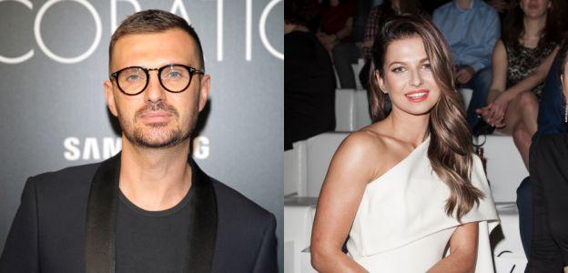 Maciej Zień zaprojektował suknię ślubną Anny Lewandowskiej – ten projekt jest jednym z tych, które cieszą się największą popularnością w portfolio projektanta.