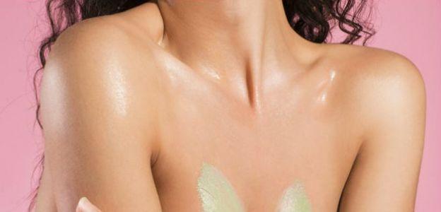 Zielona maska na biust Anese
