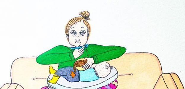 Macierzyństwo na ilustracjach