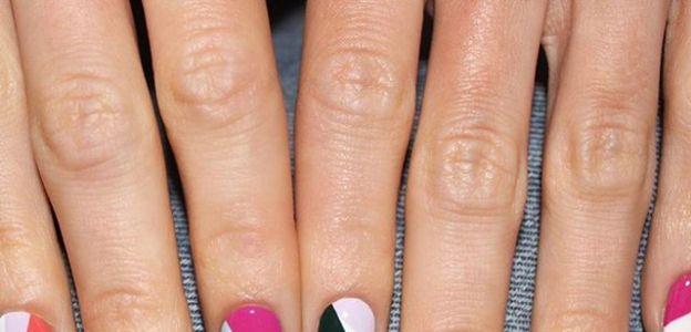 Modne paznokcie jesień 2019: geometryczny manicure