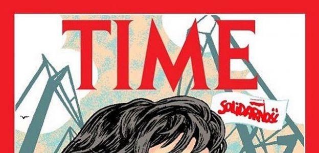 """Anna Walentynowicz na okładce magazynu """"Time"""""""